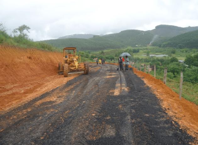 Terraplanagem e Pavimentação do distrito de Monsenhor Horta na cidade de Mariana