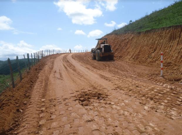 Terraplanagem e Pavimentação Aterro Sanitário na cidade de Conselheiro Lafaiete